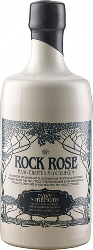 Dunnet Bay Rock Rose Gin Navy Strength 57% 1 x 70cl Bottle